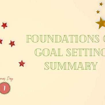 Goal Setting Foundations Aspirations